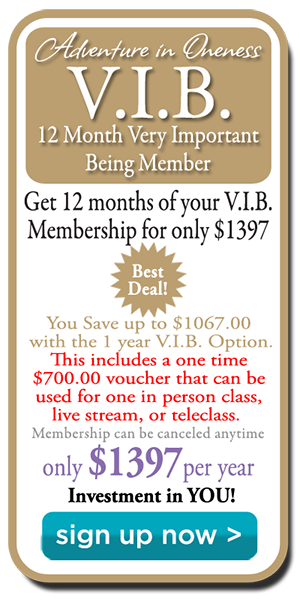 Adventure in Oneness VIB 12-Month Membership