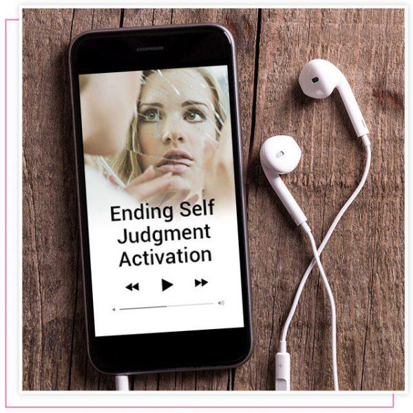 Rikka Zimmerman's audio activation program called ending self judgement
