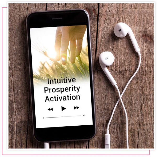 product image of Rikka Zimmerman's audio activation program called intuitive prosperity