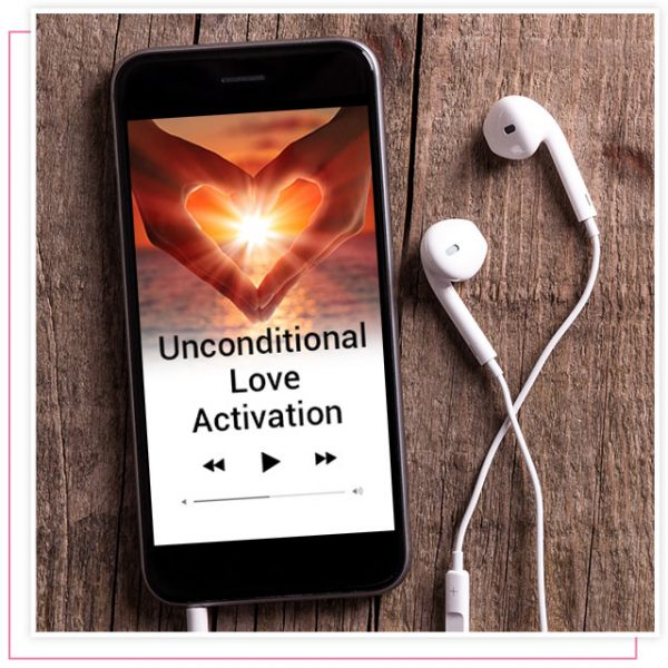 Rikka Zimmerman's audio activation program called unconditional love