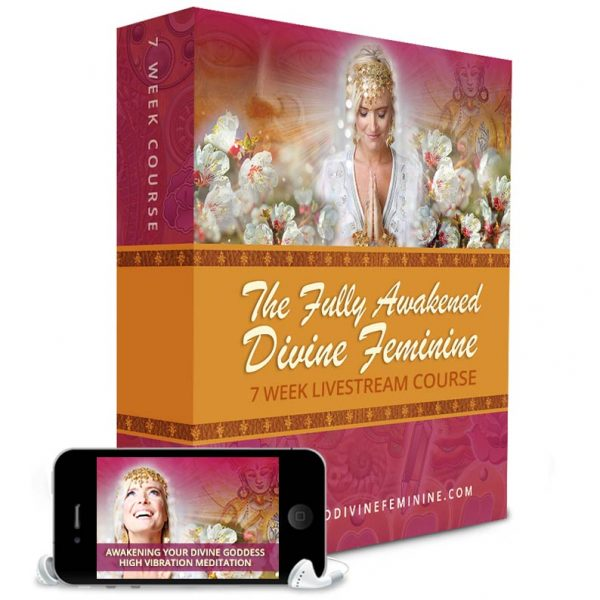 product image of online course titled the fully awakened divine feminine